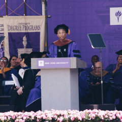 Watch Pharrell's Inspiring NYU 2017 Commencement Speech