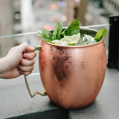 A 10-Pound Moscow Mule Is Taking Over NYC