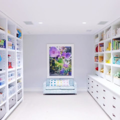 Gwyneth Paltrow's Hamptons Home: An Aggressively Organized, Sterile Rainbow