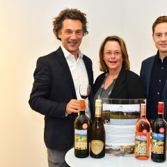 Jean-Claude Mas Of Domaines Paul Mas Celebrates Wine & Art At The Curator Gallery