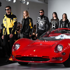 Ralph Lauren Shows His Spring Collection Alongside A $40 Million Car