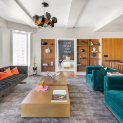 Inside Keith Richards's $12 Million Manhattan Penthouse