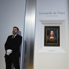 Christie's Unveils A Rare Leonardo da Vinci Painting For Auction