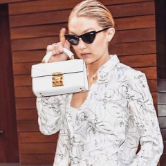The 24-Karat Gold Crocodile Handbag Gigi Hadid Loves