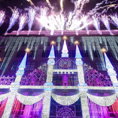 The Saks Holiday Windows Are A Fashion Fairy Tale