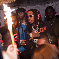 Cardi B Hits GoldBar To Celebrate Migos' New Album