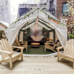 You Can Now Go Camping In The Middle Of Soho