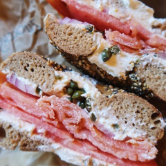 Eat The World's Largest Bagel & Lox This Week In Brooklyn