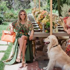 Inside Katia Francesconi & Erica Pelosini's Dreamy Earth Day Picnic In Beverly Hills