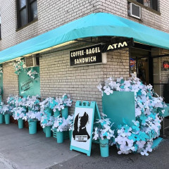 A Tiffany & Co. Bodega?! Their Iconic Blue Has Taken Over NYC