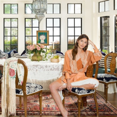 Lily Aldridge's Nashville Home Is A Bohemian Dream