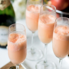 8 Frozen Champagne Cocktails To Try Before Summer's Over
