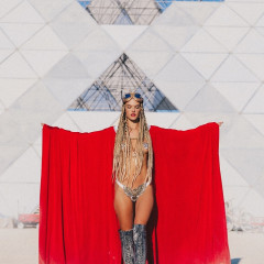 Burning Man 2018: Celebrities & Supermodels Get Down In The Desert