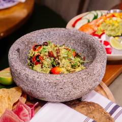 Would You Try Grasshoper Guacamole?