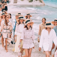 Chanel Brought The Beach To Paris For Spring 2019