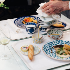 Hermès Tableware Is The Definition Of Dinner Party Goals