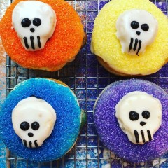 These Day Of The Dead Doughnuts Are Scary Good