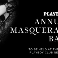Playboy's Annual Masquerade Ball at Playboy Club New York