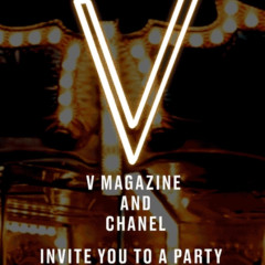 V Magazine x Chanel Halloween Party