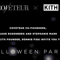 COVETEUR X KITH Party At The Blond