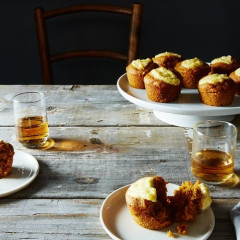 These Boozy Pumpkin Cupcakes Will Be A Friendsgiving Hit