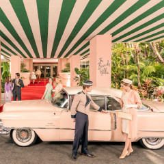 Gray Malin's Beverly Hills Hotel Photos Are A Retro Trip Back In Time