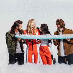 Inflatable ShotSkis Are This Winter's Ski Trip Essential