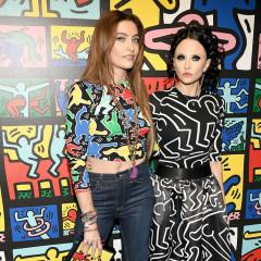 Paris Jackson & Nicky Hilton Toast Alice + Olivia's New Keith Haring Collection