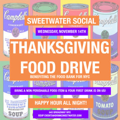 You're Invited: Thanksgiving Food Drive