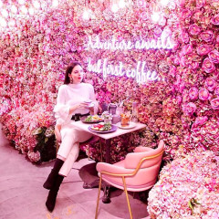 This Must-Visit Café Is Absolute Pink Perfection