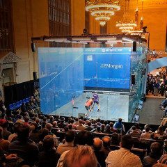 Meet Your Rich Husband At J.P. Morgan's Grand Central Squash Tournament This Week