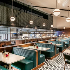 Inside Soho House's First Ever... BUDGET MOTEL & DINER?!