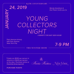 Young Collectors Night: A Benefit For East Side House