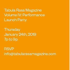 You're Invited: Volume IV Launch Party