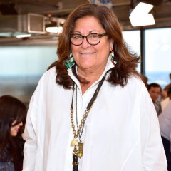 Fern Mallis (The Creator Of Fashion Week) Was Given A Standing Spot At Fashion Week