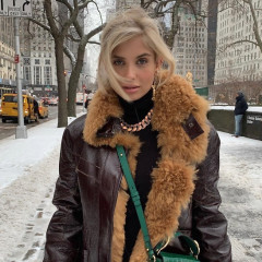 The Best Snowy Street Style Moments During NYFW