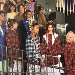 Batsheva's Fall 2019 Show Was An Epic Tribute To Courtney Love