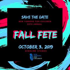 NYFC's 20th Annual Fall Fête