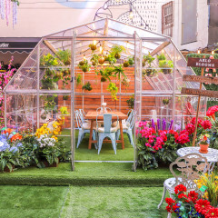 Spring Has Officially Sprung At This Secret Garden Downtown