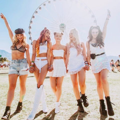 Squad Goals: The Hottest Girl Gangs At Coachella 2019