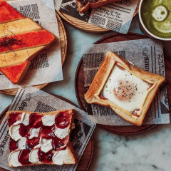 This Japanese Cafe Makes The Prettiest Toasts In NYC