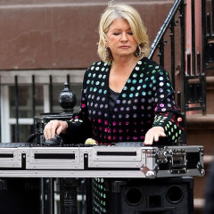 I'm Too Cool To Care About Film Crews So I Walked Right Past Martha Stewart DJing Near Our Office