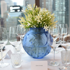 Lalique and Mandarin Oriental Host Private Dinner to Unveil  RockStone 40 by Arik Levy