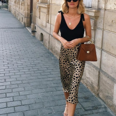 Oh No, This Instagram Account Is Documenting Our Leopard Midi Skirts