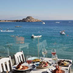 A Mykonos Restaurant Charging Over $100 For A Plate Of Calamari...