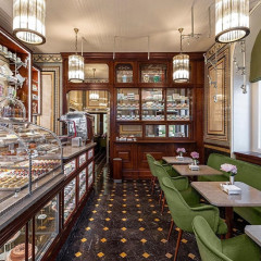 Designer Desserts?! Inside Prada's Luxe New Pastry Shop In London