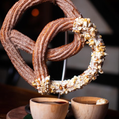 Where Has This Caramel Corn Churro Pretzel Been All Our Lives?!