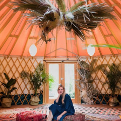 Escape To Morocco Inside This Giant Yurt In Brooklyn