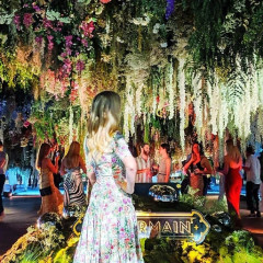 Maison St-Germain Brings A Fantastical Floating Floral Meadow To Brooklyn