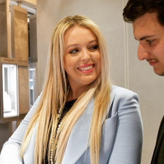 What A Beautiful, Totally #Sponsored Moment Between Tiffany Trump & Her Boyfriend